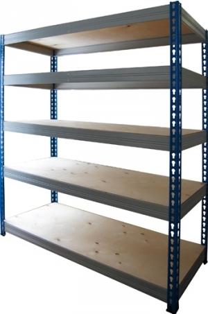 Стеллаж металлический складской 18505-2,0 купить на выгодных условиях в Смоленске