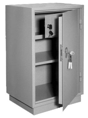 Шкаф металлический для хранения документов КБ - 011т / КБС - 011т