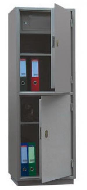 Шкаф металлический для хранения документов КБ - 032т / КБС - 032т